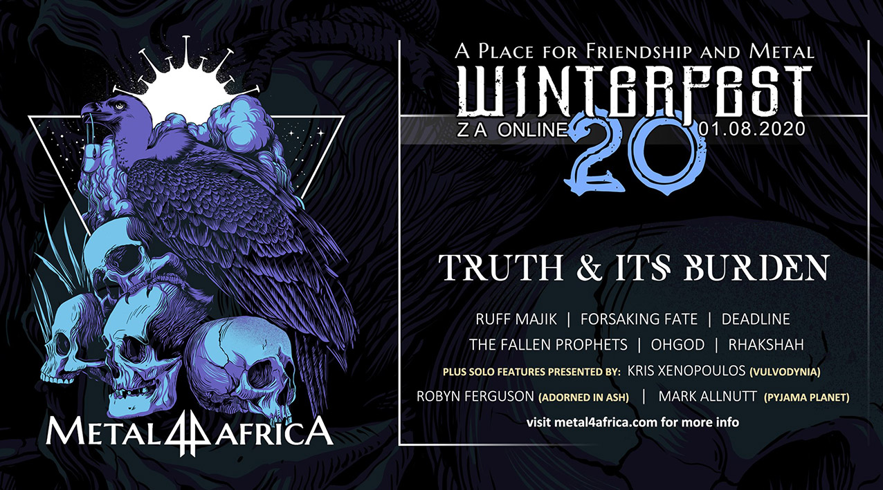 Truth & Its Burden to perform at Winterfest 2020 - Online Edition